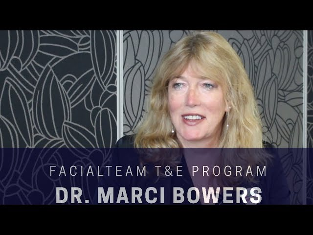 FACIALTEAM's T&E Program welcomes Dr. Marci Bowers