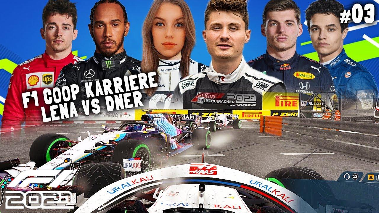 Download KATASTROPHE: Monaco im Regen | F1 2021 Coop Karriere #03 | Lena & Dner