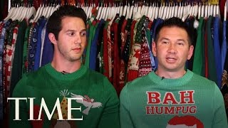 How Two Friends Built A Million-Dollar Business... Out Of Ugly Christmas Sweaters | Money | TIME