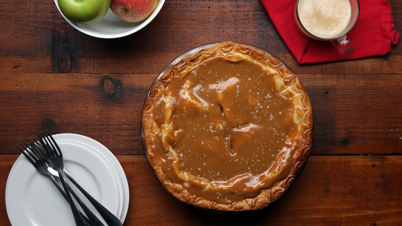 maxresdefault - Salted Caramel Apple Pie
