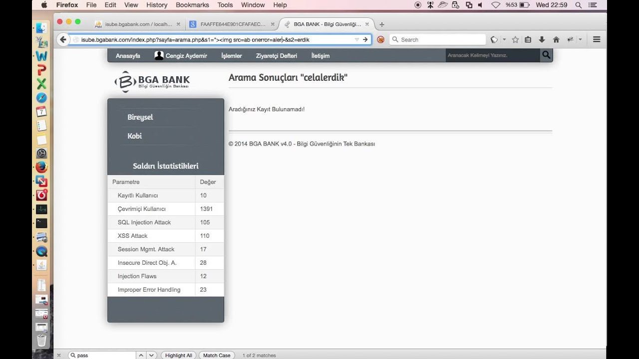 BGA Bank - WAF Bypass with Http Parameter Pollution Attacks