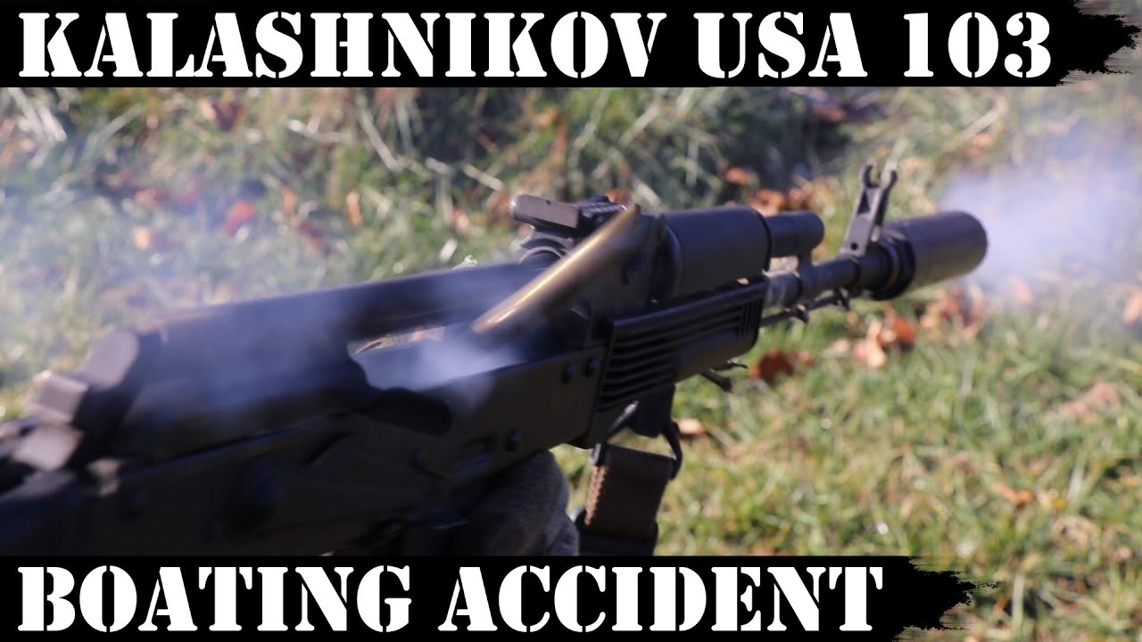 Kalashnikov USA KR 103 - Boating Accident Survival Test Report