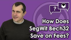 Bitcoin Q&A: How does SegWit Bech32 save on fees?