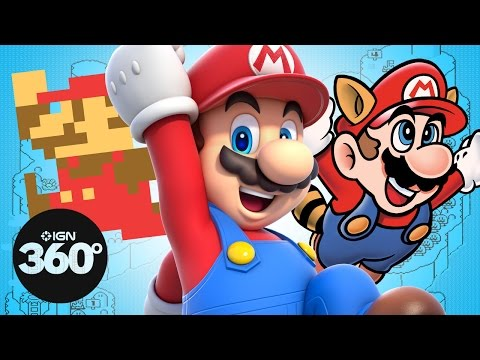 Every Super Mario Game Ever in 360