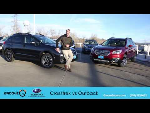 2017 Subaru Crosstrek Vs Outback What S The Difference