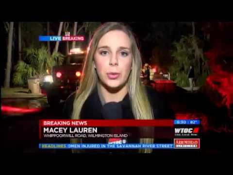 Breaking News: Savannah House Fire