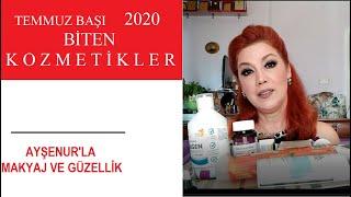Haziran 2020 Biten Kozmetiklerin Yorumu