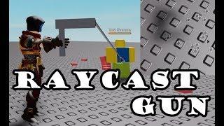 ROBLOX raycast gun tutorial+bullet holes