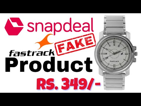 FASTRACK SILVER STAINLESS STEEL STRAP WATCH   SanpDeal Fastrack Watch