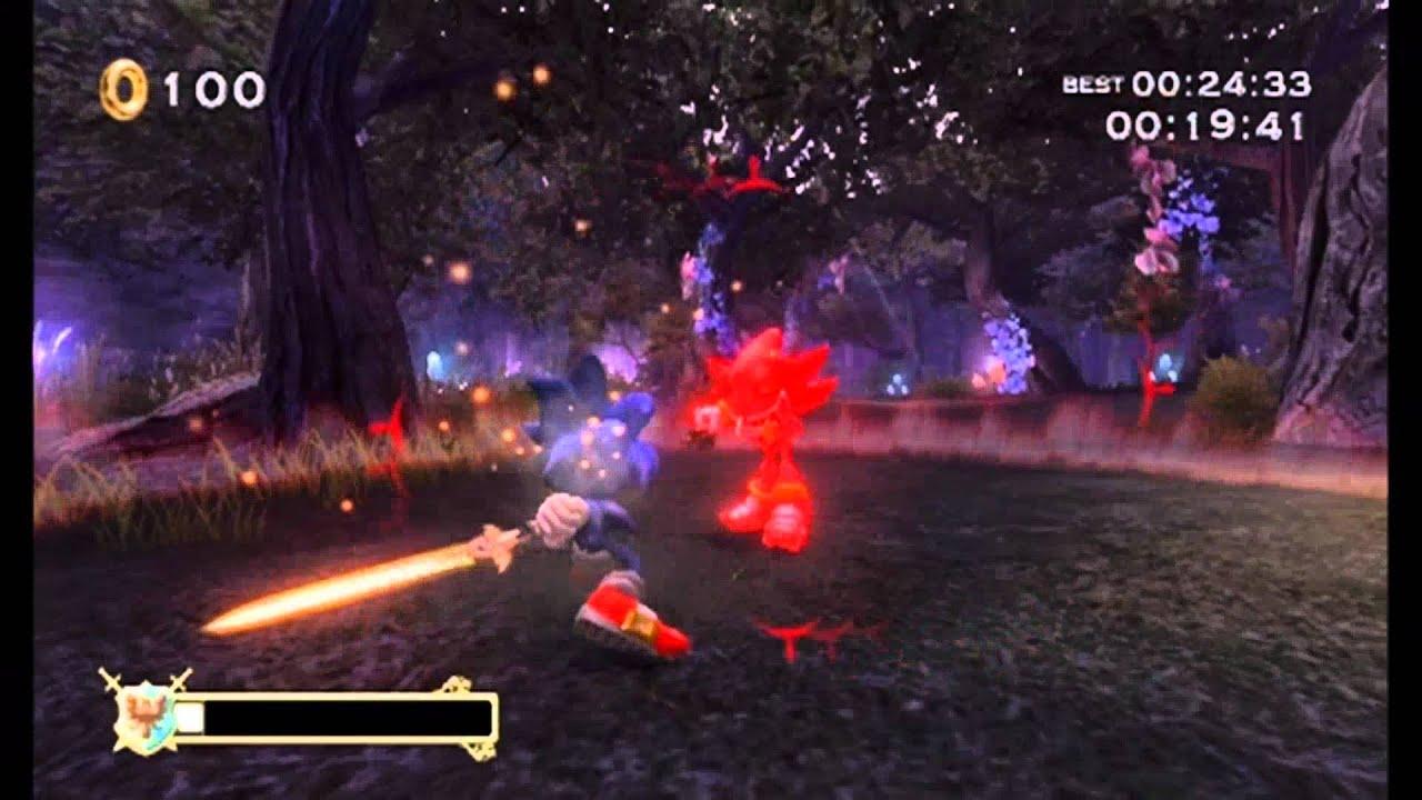 Sonic And The Black Knight Deep Woods Lancelot Returns 5 Stars Lanccelot Watch Aegis Of Attilia Youtube