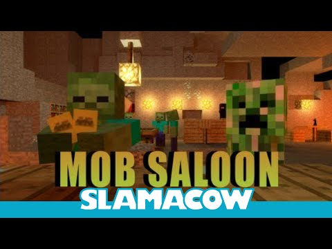 Mob Saloon! (Re-uploaded) - Minecraft Animation - Slamacow