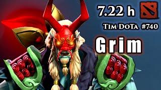 Dota 2 | GrimStroke | 7.22h | Red Five and Tilted Gaming | Tim Dota | #740