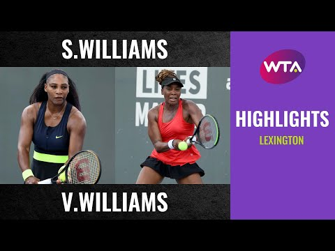Top Seed Open: Williams Sisters Match Highlights