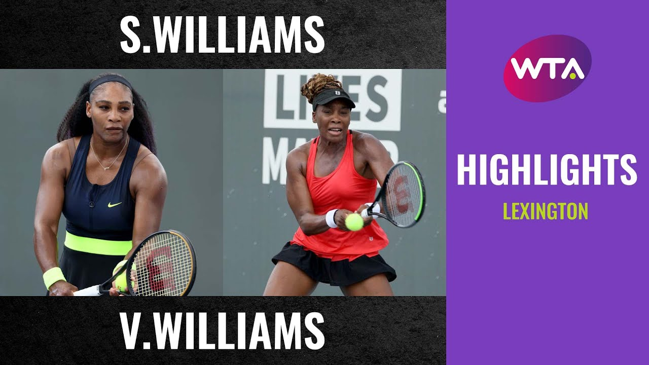 Serena Williams vs. Venus Williams | 2020 Lexington Second Round | WTA Highlights