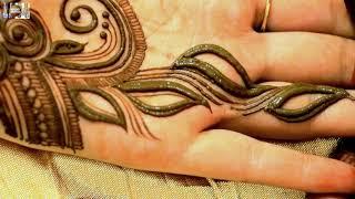 Unique Mehndi Tattoo For Palm | MehndiArtistica