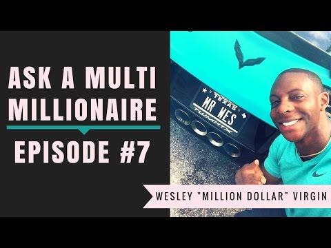 Ask A Multi Millionaire 7 - Self Validation vs Self Deprication