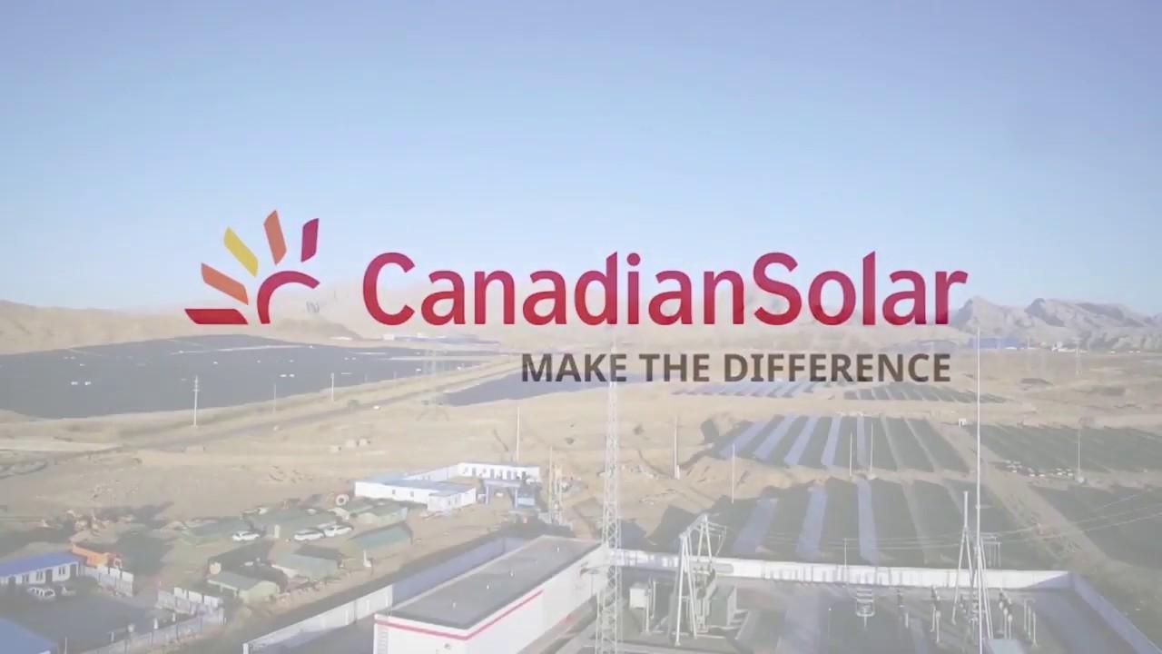 Canadian Solar trúng thầu 94 MW ở Alberta, Canada.