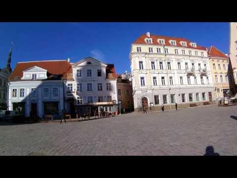 Segway miniPro in Tallinn Old Town (30.03.2017)