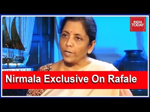 Nirmala Sitharaman Exclusive Interview On Rafale Deal; Says Congress Spreading Misinformation