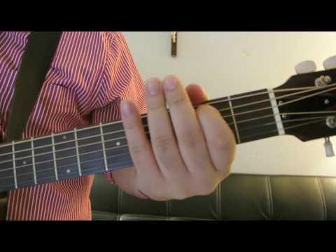 """Frank Ocean - """"Eyes Like Sky"""" How to Play Guitar (Easy!! Guitar Tutorial!!)"""