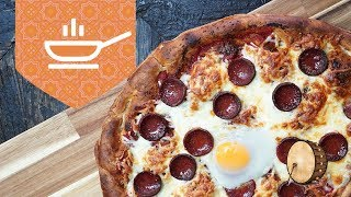 Ramazan Pidesinden Pizza Nasıl Yapılır | Yemek Tarifleri