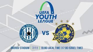 "SK Sigma Olomouc VS Maccabi ""Shachar"" Tel Aviv"