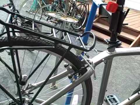 Sunlite Monostay Rear Bike Rack Installation Youtube