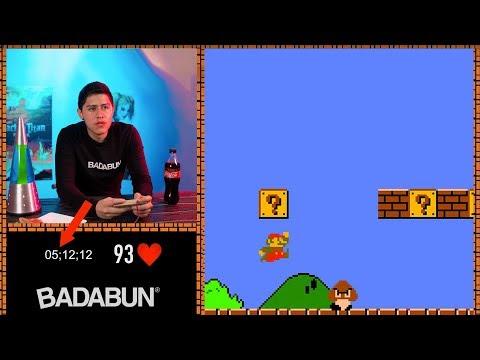Pasando Super Mario en 5 minutos