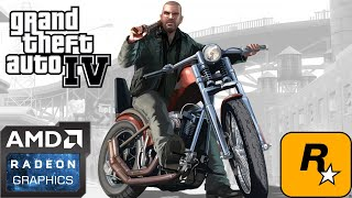 GTA IV Gameplay on Low End PC (AMD A6, Radeon R4 Graphics)