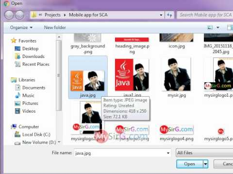 Image upload example in PHP part 3 of 3 Hindi