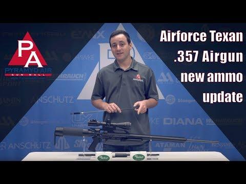 Airforce Texan .357 Airgun - new ammo update