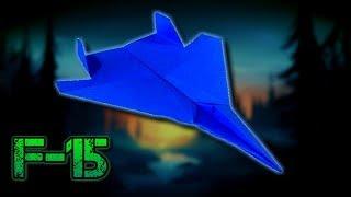 Kağıttan F15 Savaş Uçağı Nasıl Yapılır ? Origami Yapımı
