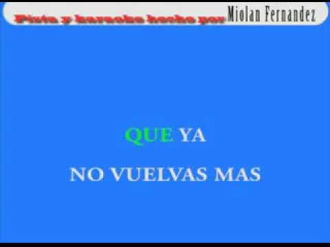 Cheo Feliciano Franqueza Cruel Karaoke