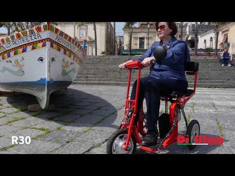 Folding mobility scooter R30 DI BLASI