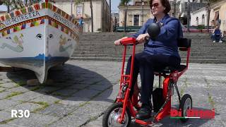 Folding mobility scooter R30 DI BLASI