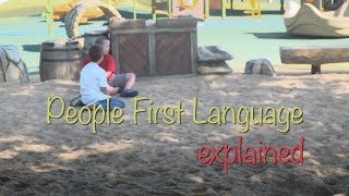 Words Count: People First Language Explained