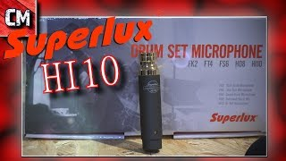 Superlux HI10 mic ��various instruments performance