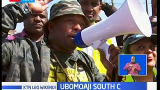 Gavana wa Nairobi Mike Sonko aongoza ubomoaji South C