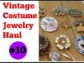 Vintage Costume Jewelry Haul #10 - October 2016 - Garage Yard Estate Sale
