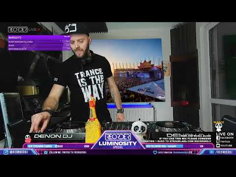 Luminosity presents: ReOrder live; exclusive 4 hour DJ set!