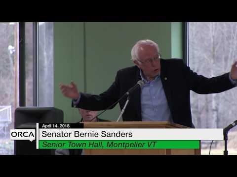 VT State House Special Event - Bernie Sanders Senior Town Hall