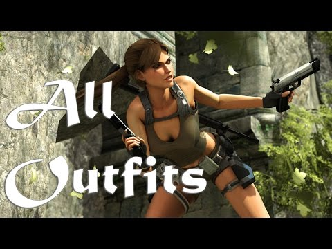 Tomb Raider Underworld All Costumes