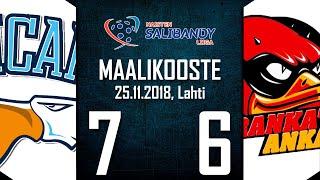 Pelicans SB - SSRA | 25.11.2018 | MAALIKOOSTE