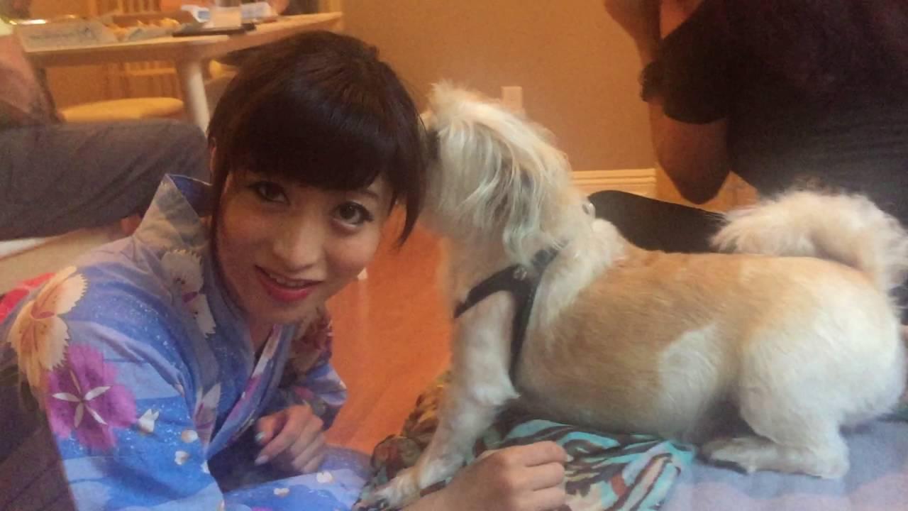Ayumu Kase Selfie: Ayumu Kase Loves Dogs 2