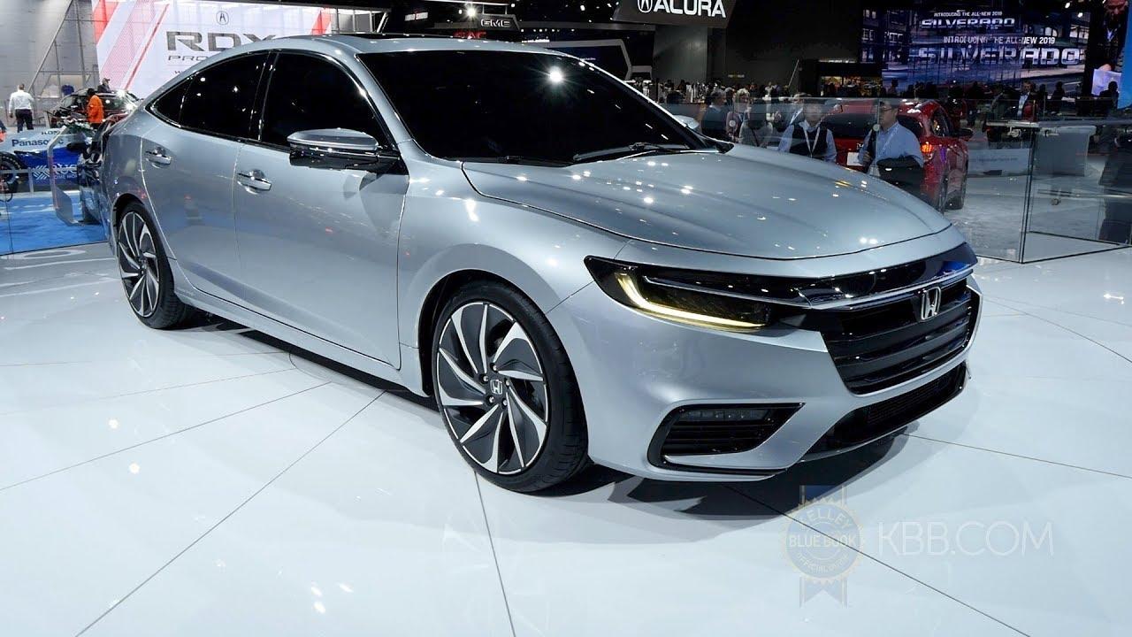 2019 Honda Insight Prototype 2018 Detroit Auto Show Youtube