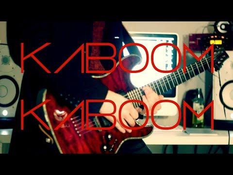 Marilyn Manson - Kaboom Kaboom Guitar cover by Robert Uludag/Commander Fordo
