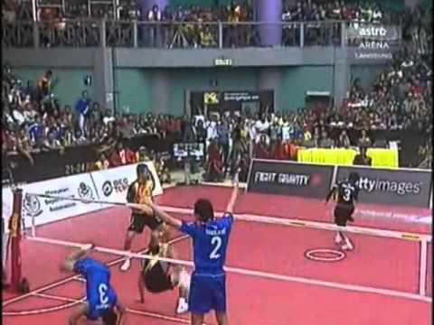 ตะกร้อชิงแชมป์โลก 2011 ไทย-มาเลเซีย Set 1
