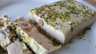 Tahini Halva Recipe  - حلوا