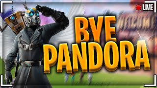 [Live] [Fortnite] AU REVOIR PANDORA ! New skin + Top#1 !?