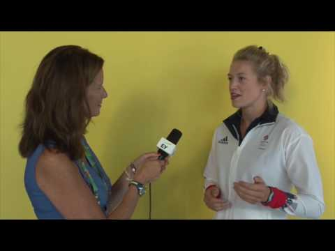 British Olympic Rower, Olivia Carnegie Brown, EY Interview